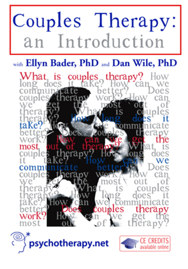 Couples Therapy: An Introduction