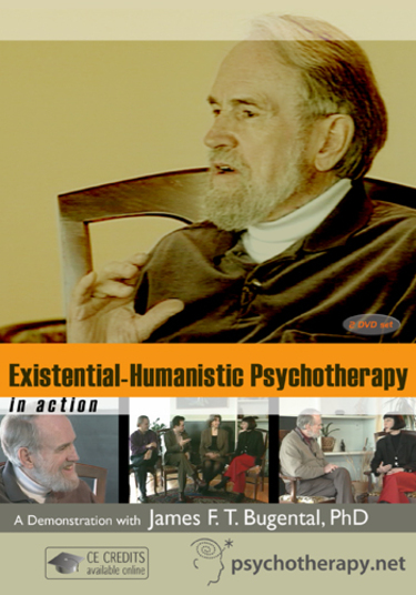 James Bugental Video Existential Humanistic Psychotherapy