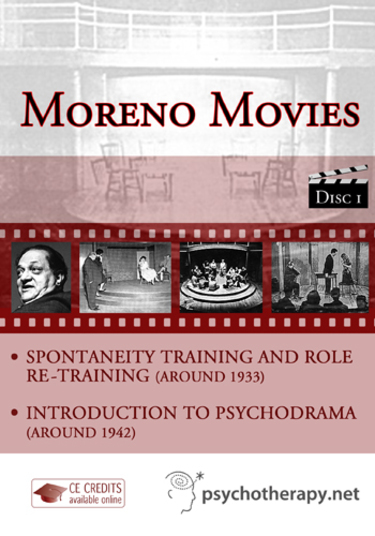 Spontaneity Training and Role Re-Training and Introduction to Psychodrama