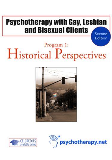 Psychotherapy with Gay, Lesbian and Bisexual Clients—1: Historical Perspectives