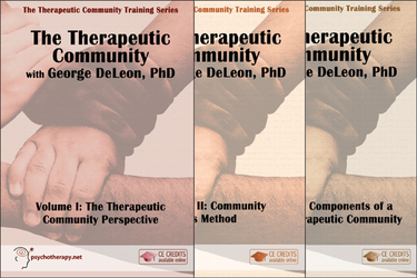 The Therapeutic Community (3-Video Series)