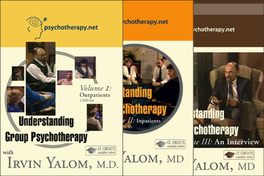 Group therapy videos irvin yalom understanding group psychotherapy 3 video series negle