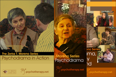 The Zerka T. Moreno Psychodrama Series (3-Video Set)