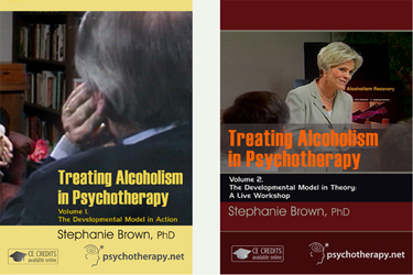 Treating Alcoholism in Psychotherapy: 2-Video Series