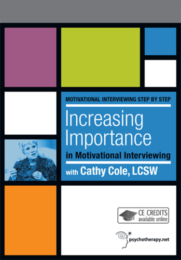Increasing Importance in Motivational Interviewing