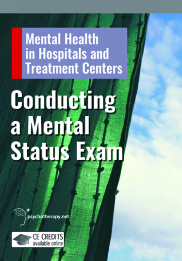 Conducting a Mental Status Examination