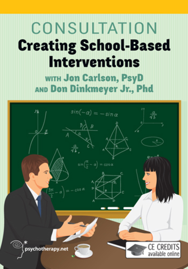 Consultation: Creating School Based Interventions