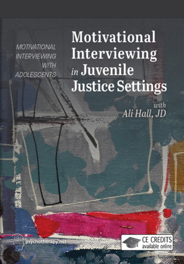 Motivational Interviewing in Juvenile Justice Settings
