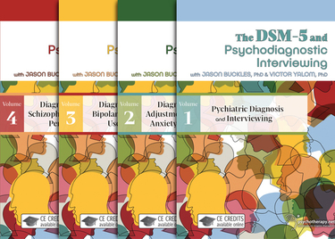 The DSM-5 and Psychodiagnostic Interviewing (4-video series)