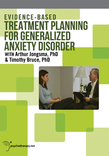 Evidence-Based Treatment Planning for Generalized Anxiety Disorder