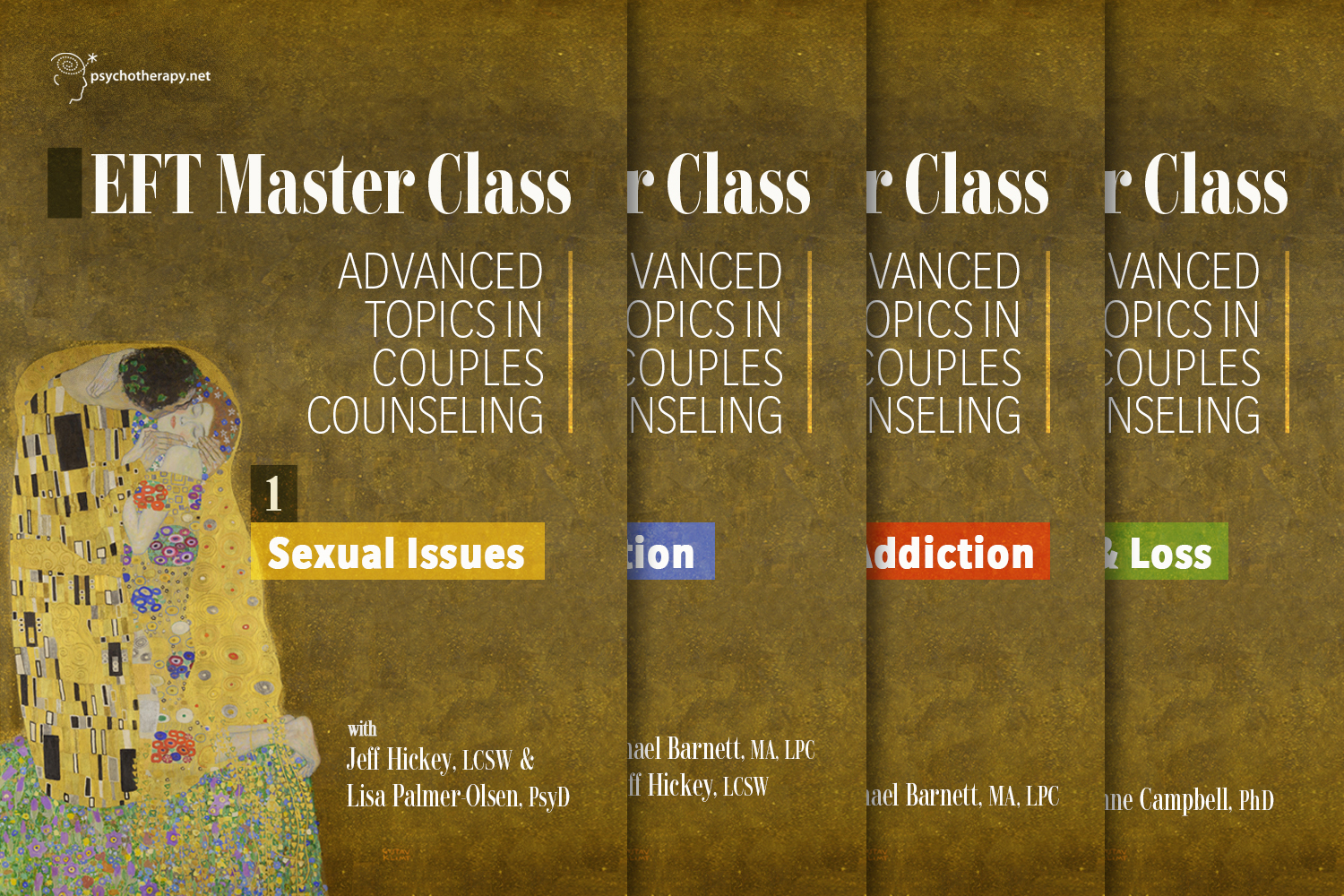 EFT Masterclass: Advanced Topics in Couples Counseling: 4-video series