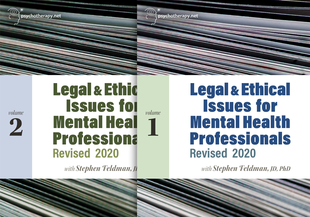 Legal and Ethical Issues for Mental Health Professionals: Revised 2020