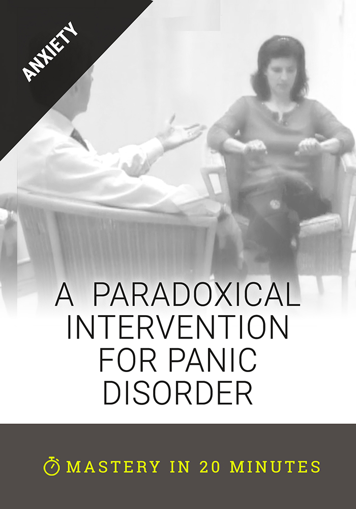 A Paradoxical Intervention for Panic Disorder