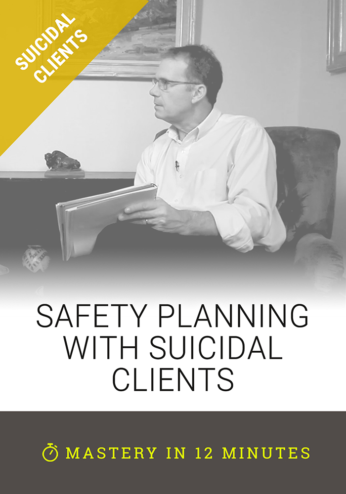 Safety Planning with Suicidal Clients