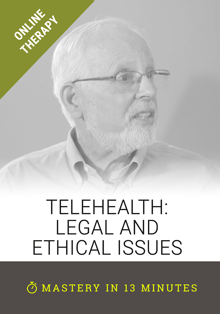 Telehealth: Legal and Ethical Issues