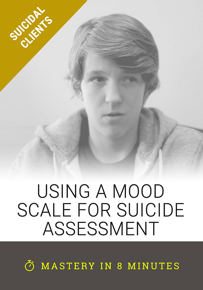 Using a Mood Scale for Suicide Assessment