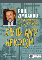 Phil Zimbardo on the Stanford Prison Experiment, Evil and Heroism