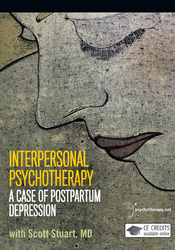 Interpersonal Psychotherapy: A Case of Postpartum Depression